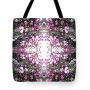 Pink Flower Sky Window Tote Bag