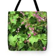 Pink Flowering Vine1 Tote Bag