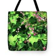 Pink Flowering Vine2 Tote Bag