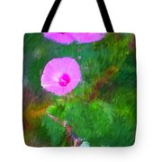 Pink Flowers 102310 Tote Bag