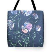 Pink Flowers - 4 Tote Bag