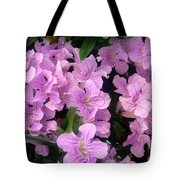 Pink Flowers. 6-22-17 Tote Bag