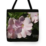 Pink Flowers P79 Tote Bag