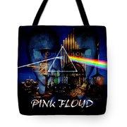 Pink Floyd Montage Tote Bag