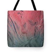Pink Froth Tote Bag