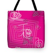Pink Happiness Tote Bag