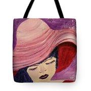 Pink Hat Tote Bag