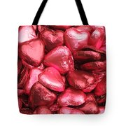 Pink Heart Chocolates I Tote Bag