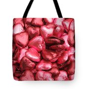 Pink Heart Chocolates II Tote Bag