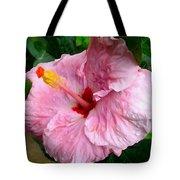 Pink Hibiscus Flower 1 Tote Bag