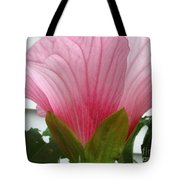 Pink Hibiscus Ready To Bloom Tote Bag