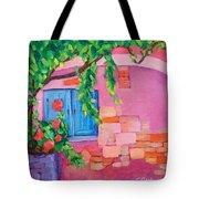 Pink Home Tote Bag