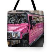 Pink Hummer At Trafalgar Tote Bag