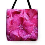 Pink Hydrangea After Rain Tote Bag