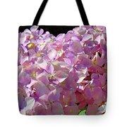 Pink Hydrangea Flower Floral Art Prints Baslee Troutman Tote Bag