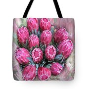 Pink Ice Tote Bag