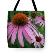Pink In The Garden Tote Bag
