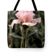 Pink Iris Tote Bag