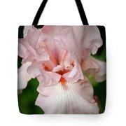 Pink Iris Study 15 Tote Bag