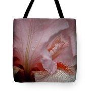 Pink Iris Study 5 Tote Bag