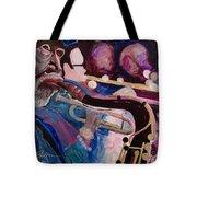 Pink Jazz Tote Bag