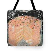 Pink Layer Cake Tote Bag