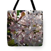 Pink Lilac Blossom Tote Bag