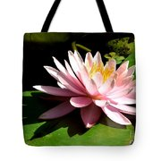 Pink Lily 9 Tote Bag