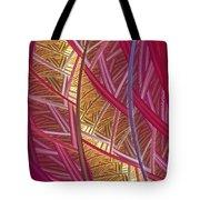 Pink Lines Tote Bag