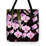 Pink Little Orchids Tote Bag