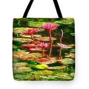 Pink Lotus Flower 2 Tote Bag