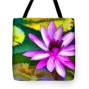 Pink Lotus Gallery  Tote Bag