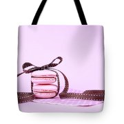 Pink Macarons Tied With Ribbon  Tote Bag