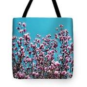 Pink Magnolia Splendor Tote Bag