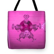 Pink Male Pipe Tote Bag