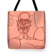 Pink Man Tote Bag