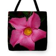 Pink Mandevilla Tote Bag