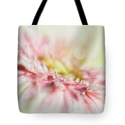 Pink Tote Bag by Mark Johnson