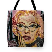 Pink Mary Tote Bag