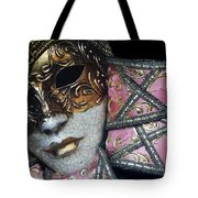 Pink Mask Tote Bag