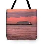 Pink Morning In The Bay Of Thunder Tote Bag