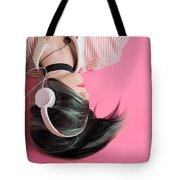 Pink Music Time Tote Bag