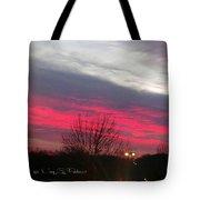Pink Night Tote Bag