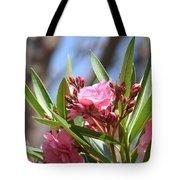 Pink Oleander IIi Tote Bag