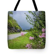 Pink On The Parkway Tote Bag