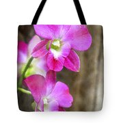 Pink Orchid Duo Tote Bag