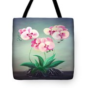 Pink Orchids 2 Tote Bag