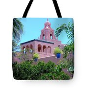 Pink Palace Honolulu Tote Bag