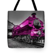 Pink Pannier  Tote Bag