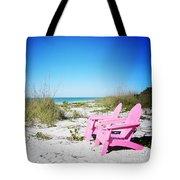 Pink Paradise Vanilla Pop Tote Bag